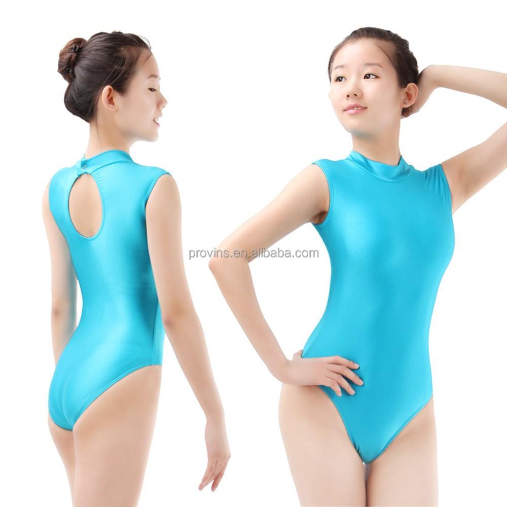 8dc825f962561c Dansgirl Professional Shiny Spandex Leotard Gymnastic Competition Leotards