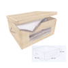Canvas Storage Drawer Box, Fabric Clothing Organizer Chest