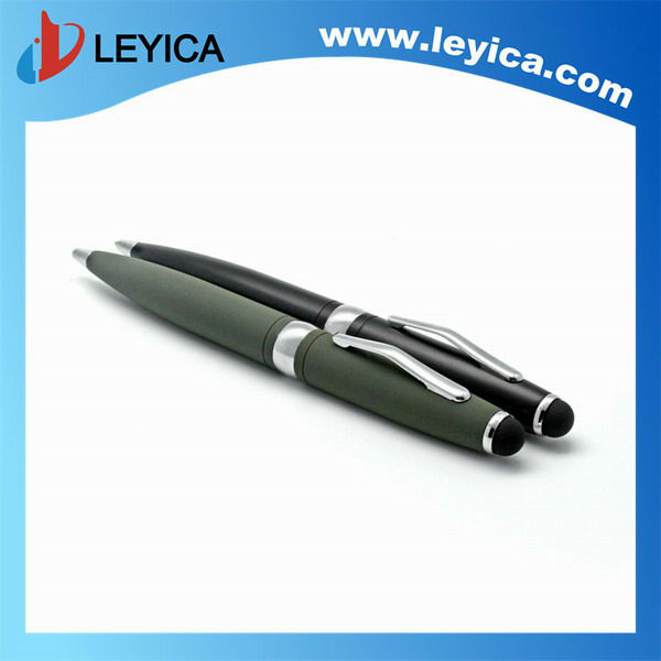 Metal ball pen promotional use gun gray color - LY-S073