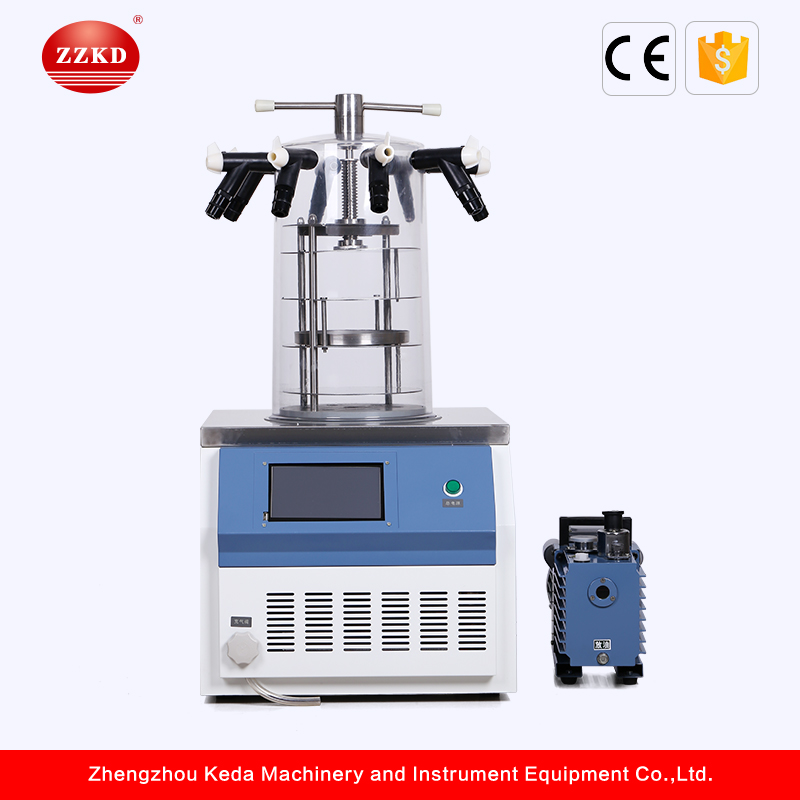 Top Grade Lab Vacuum Freeze Dryer Manufacturer from China