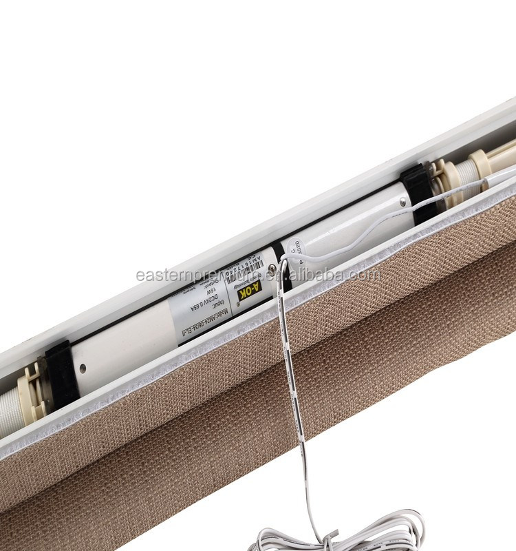 High end horizontal window decorative fabric roman blind for High end window blinds