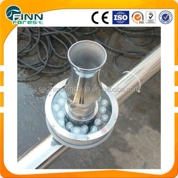 Swimming pool water jet stainless steel bubble fountain nozzle buy bubble fountain nozzle for Swimming pool fountain nozzles