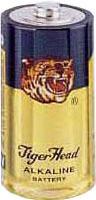 Original Tiger Head Brand Alkaline LR20 3616 AM-1 D Size Metal Jacket Battery