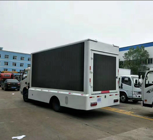 NEW MOBILE DIGITAL P6 LED BILLBOARD ADVERTISING TRUCK FOR SALE