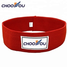 Stof kleur geweven elastische rubber sport silicone pols fitness <span class=keywords><strong>weerstand</strong></span> band
