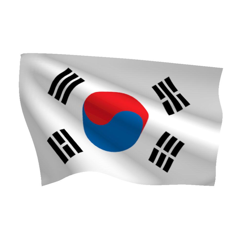 Картинки удачным, корея картинки флаг