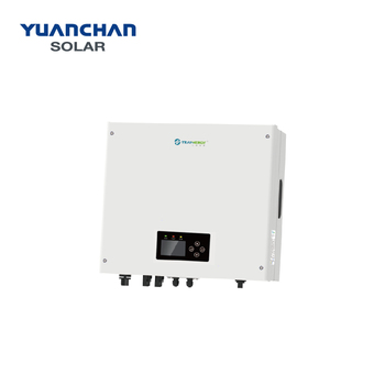 YuanChan on grid tie solar inverter 4KW 5KW 6KW 7KW 8KW 9KW 10KW three phase EU standard dc to ac power inverter
