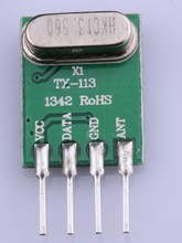 VHF/UHF higher frequency module/Wireless transmitter module/433.92mhz transmitter module