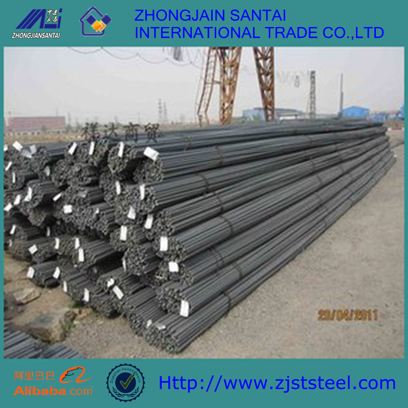 HRB400E 500E Hot Rolled Ribbed Steel Rebar construction iron bar prices