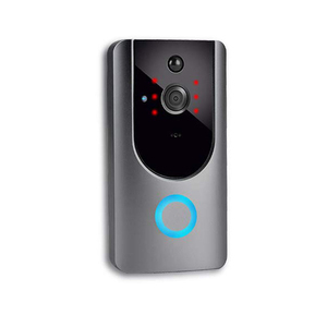 gong hidden smart ip wifi video home security voice recording digital door peephole viewer camera doorbell