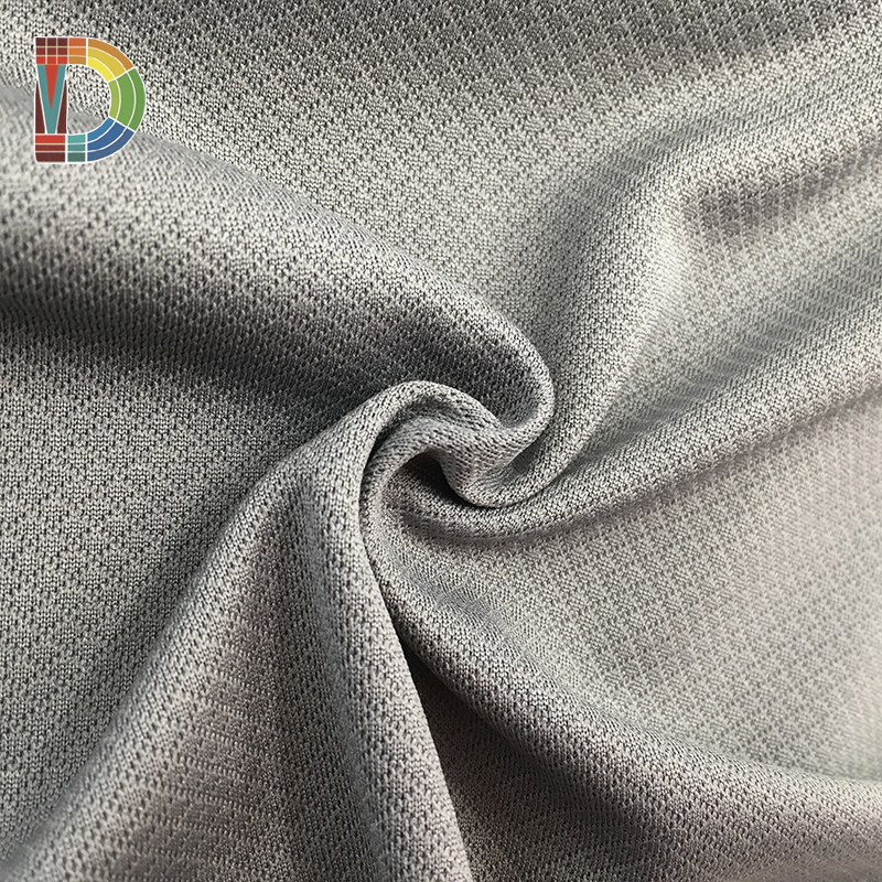 2018 Fashion breathable polyester knitted fabric for Garment shoes home textile