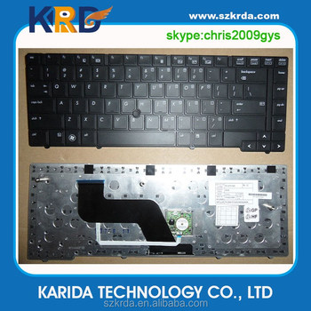 Brand new laptop keyboard for HP EliteBook 8440P 8440W 8440 with Pointer black US keyboard