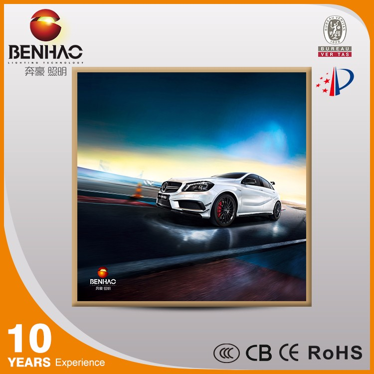 High bright aluminum snap frame LED photo poster advertise light box