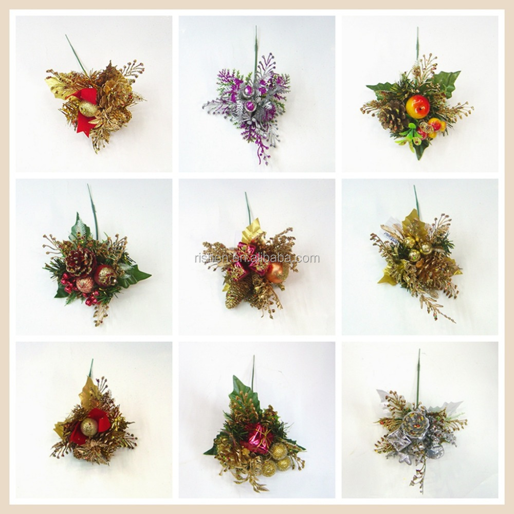 Wholesale Christmas Wreath Decorations Gold Artificial Christmas