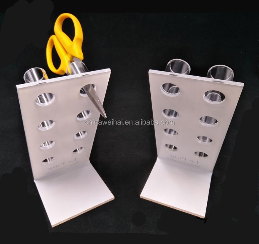 Clear Acrylic Scissors Display Stand