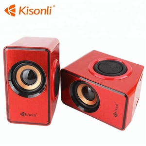 6W Powerful Mini USB 2.0 Laptop PC Computer Subwoofer Speaker
