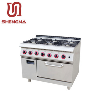 Farfalla Table Top 6 Fornelli A Gas Prezzi Con Forno A Gas - Buy ...