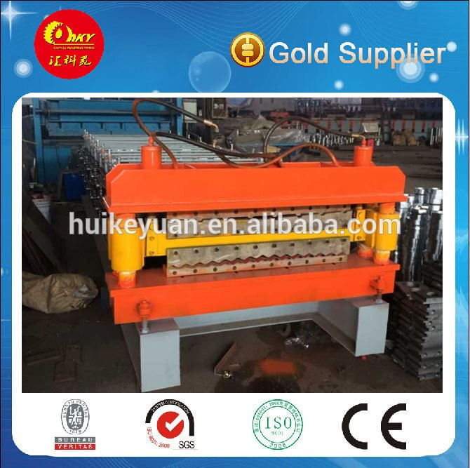 double plate color steel roll forming machine