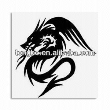 New design Water Transfer Dragon Temporary Tattoo Sticker