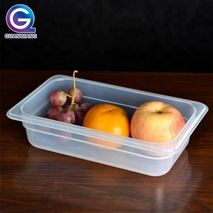 Popular plastic food storage container polycarbonate gn food pan