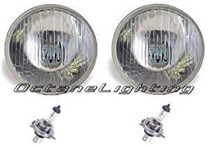 "OCTANE LIGHTING 7"" Halogen 24V Military Trucks & Jeeps Headlight Headlamp Bulbs H4 24 Volt Pair"