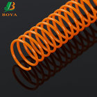 Binding Spiral Comb Ring Plastic Material Plastic Spiral Binding Wire