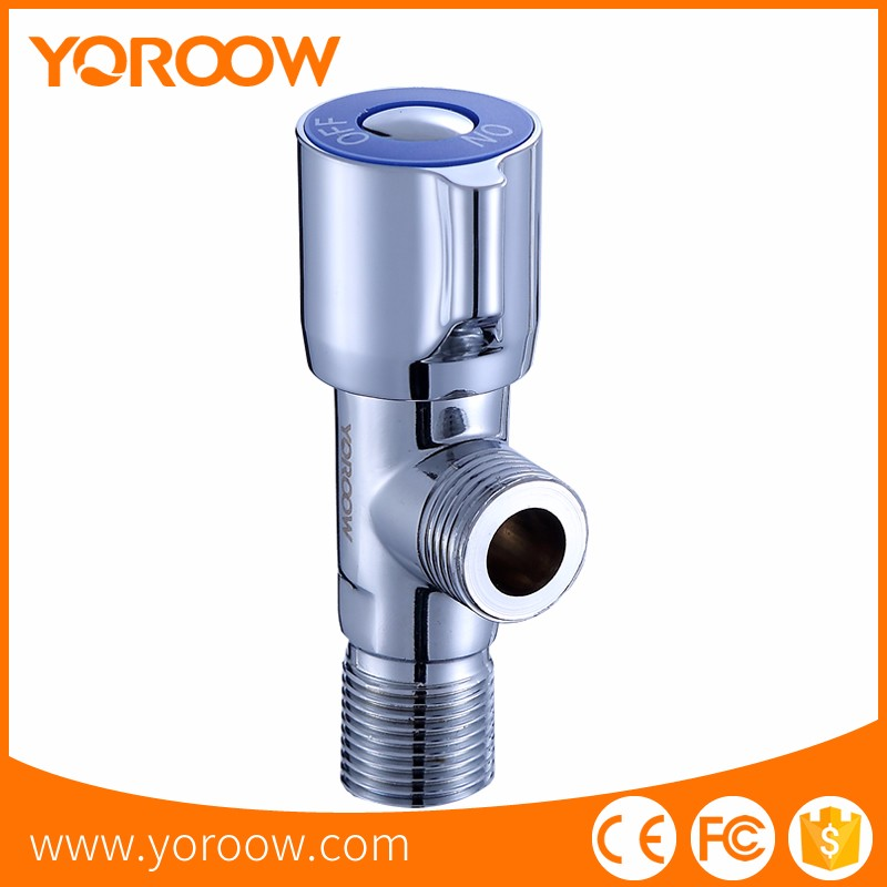 Dominica Best Price zinc handle basin water control angle valve