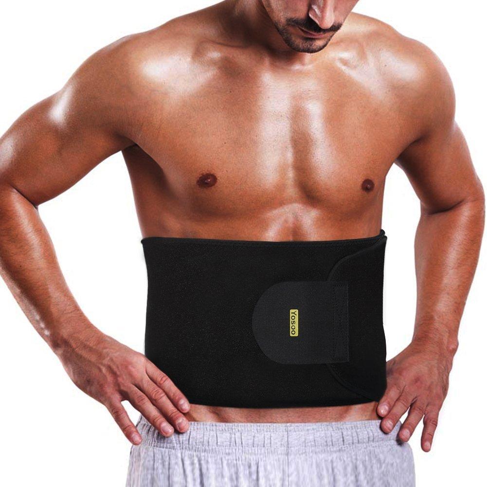194c392c6d Get Quotations · Yosoo Waist Trimmer Belt - Neoprene Waist Sweat Band for  Slimmer Water Weight Loss Mobile Sauna