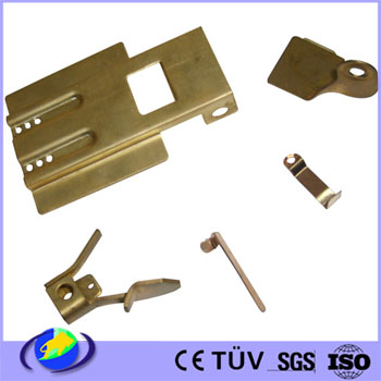 OEM Copper Plate Precision Stamping Part