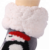 2020 New Cute Carton Design Winter Cozy Fluffy Warm Novelty Slipper Kids Christmas Socks With Grippers