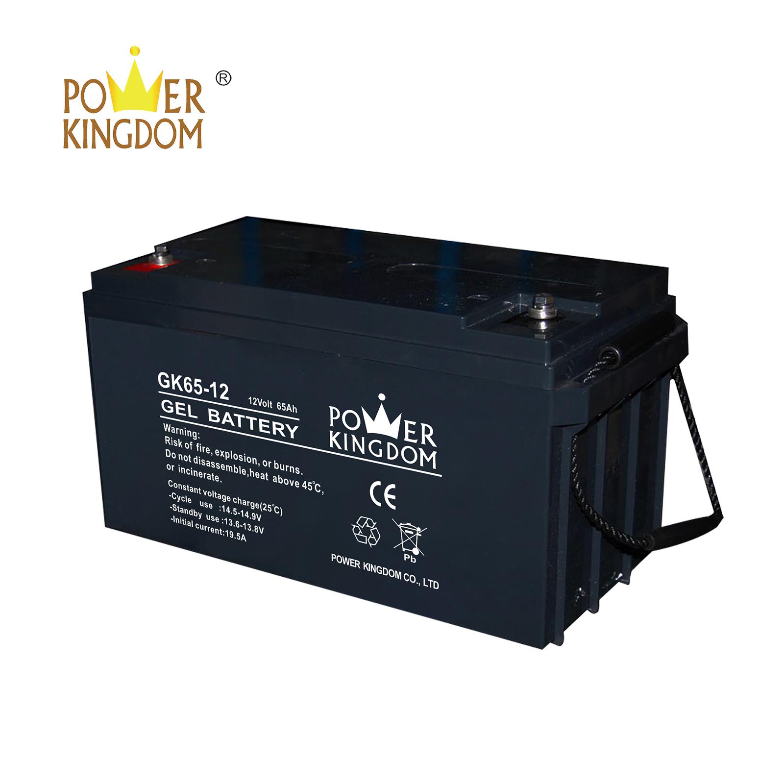 Power Kingdom 12v sla battery sizes company medical equipment-2