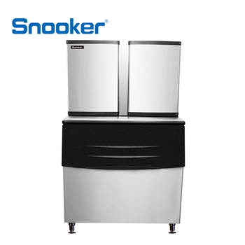 snooker 304 stainless steel commercial ice maker ice machine 26909kg24h - Commercial Ice Machine