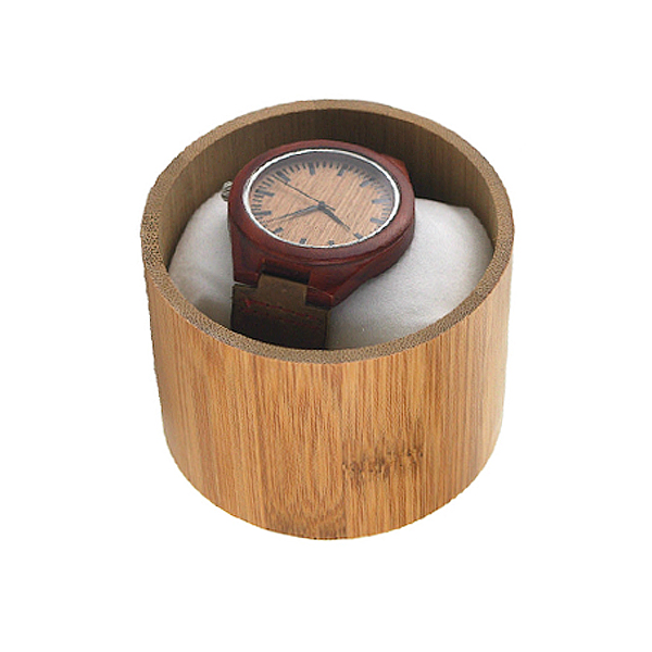 High-grade wooden bamboo watch box,packaging box for watches welcome OEM