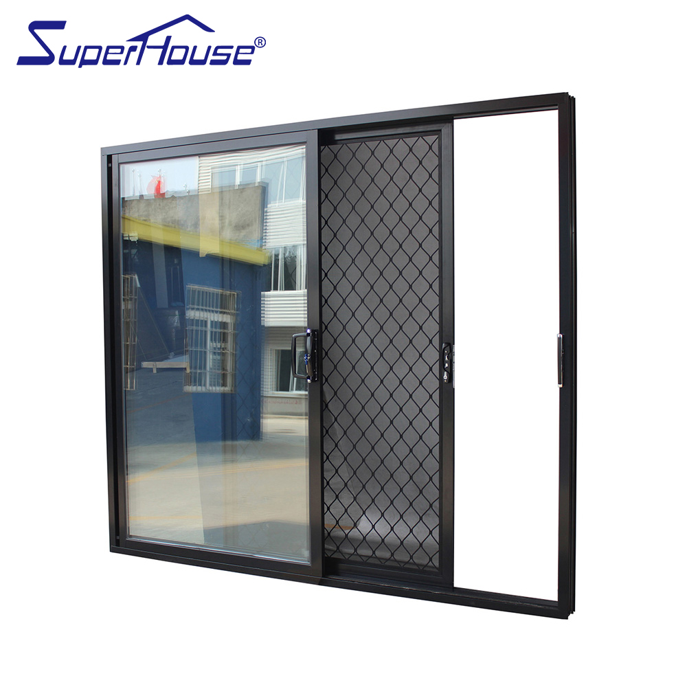 Superhouse Aluminium Automatic Sliding Patio Door With Fly Screen Gate  Slide And Stack Glass Door - Buy Slide And Stack Glass Door,Automatic  Sliding