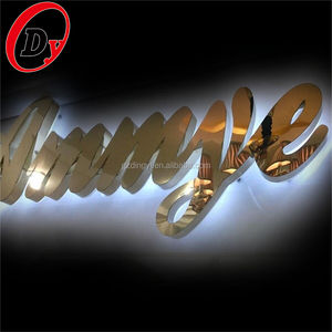 UL CE certified custom made waterproof outdoor backlit illuminated led sign letters
