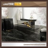 Best Price Nero Marquina Marble Flooring Tiles 60X60