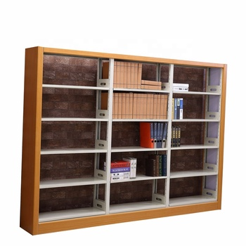 new product 3fe0c 00a94 Powerful Library Furniture Steel Library Bookshelf,Heavy Duty Wooden  Library Bookshelf - Buy Movable Bookshelf,Wooden Library  Bookshelf,Industrial ...