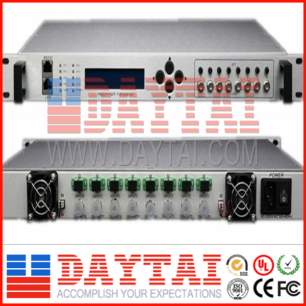 HFC CATV Equipment, FTTH Fiber Optic Receiver with SC Connector (8 way HFC Optical Receiver )