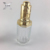 dropper top transparent glass tube e liquid essential oil bottle packaging 30ml