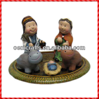 2013 Latest hot sale two kids religious item