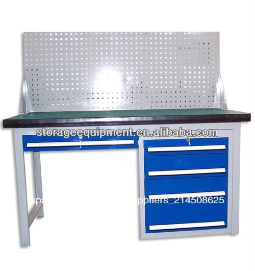 Mesa de trabajo del taller bancos de carpinter a for Mesas de trabajo para taller
