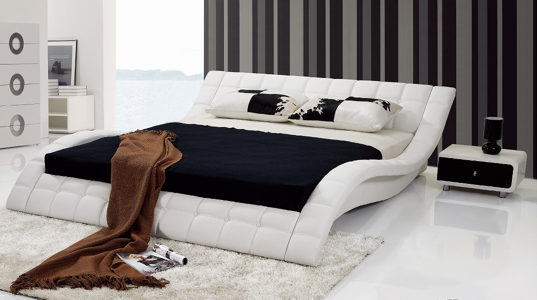 S Di Figura Di Re Letti Letto In Pelle Moderno - Buy Moderna Letti In  Pelle,Re Letto Moderno,Forma S Letto Product on Alibaba.com