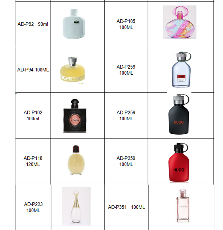 Best Selling Wholesale Long Lasting Female China Perfume Fragrance Smart Collection Brand Perfume
