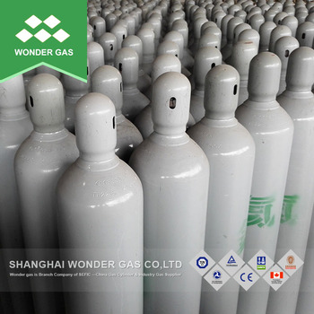 50L 200Bar High purity Helium Gas