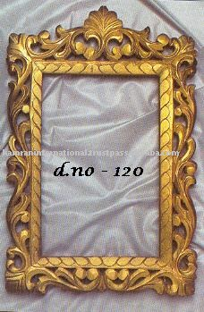 Wall Mirrors Antique Mirror Framed Decorative Frame Wood