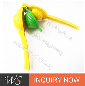 WS-PL06 Premium Quality Metal Lemon Lime Squeezer