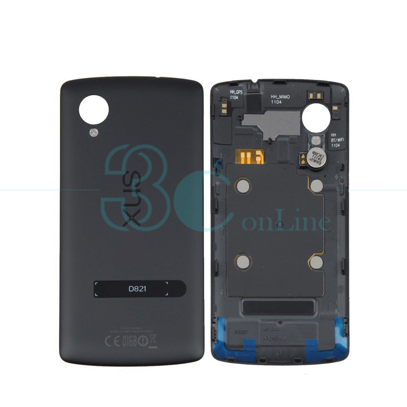 Original for LG for Google Nexus 5 D820 D821 Battery Door Housing Rear Back Cover with NFC Replacement Repair Spare Parts