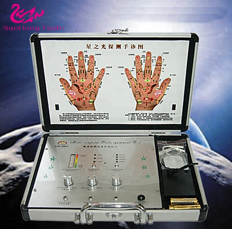 Hand Electrical Muscle Stimulator/body Digital physical therapy machine/Physiotherapy massage