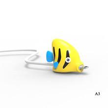12 животных кабель укуса USB кабель протектор для iphone Mirco Тип C стол намотки провода Органайзер 2018 новейший Dropshopping забавные игрушки(Китай)