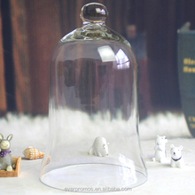 "Glass Dome Bell Jar Glass Display Dome / Cloche with no Base - 7"" x 11"""